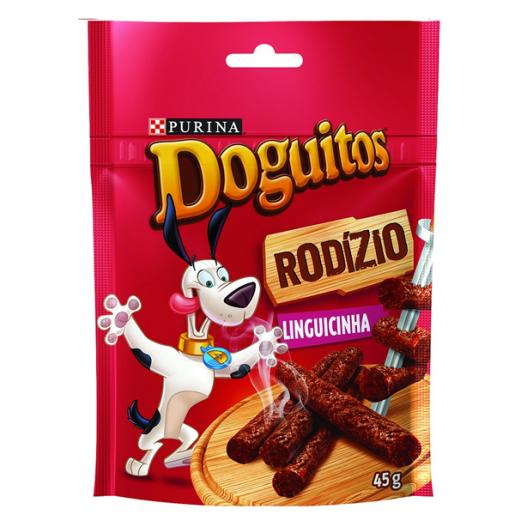 Doguitos Rodizio Linguicinha Purina 45g
