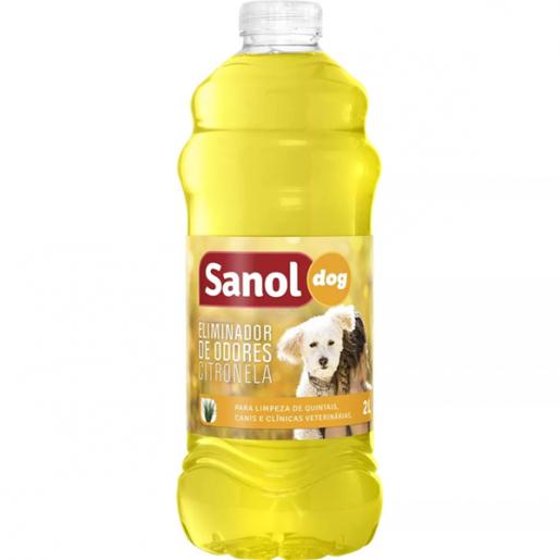Eliminador de Odores Sanol Citronela 2l