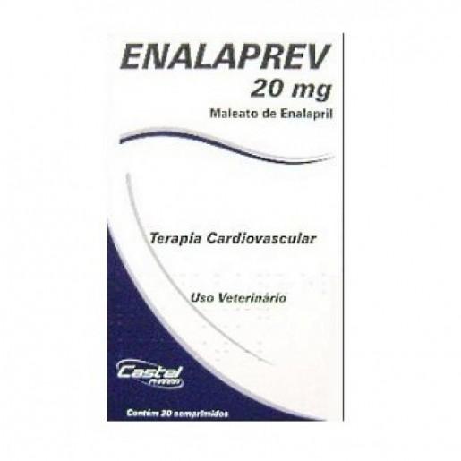 Enalaprev 20mg Cepav 20 Comprimidos