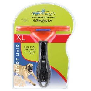 Escova Furminator Extra Grande Pelos Curtos Cães