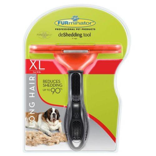 Escova Furminator Extra Grande Pelos Longos Cães