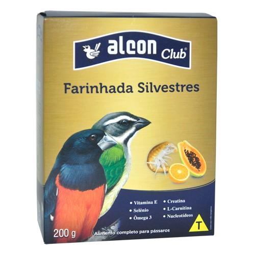 Farinhada Alcon Club Pássaros Frugívoros e Insetívoros 200g
