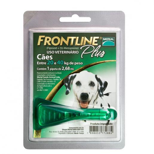 Frontline Plus Cães G - De 20 a 40kg