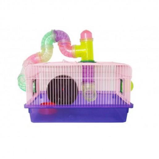 Gaiola Para Hamsters Tubo Luxo Ref: 632
