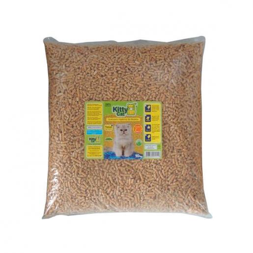 Granulado Kitty Cat Premium Madeira 15kg