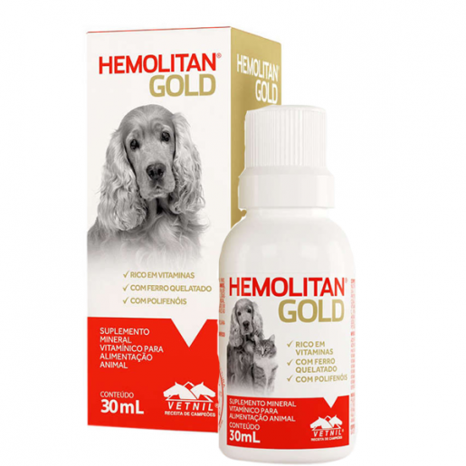 Hemolitan Gold - 30ml
