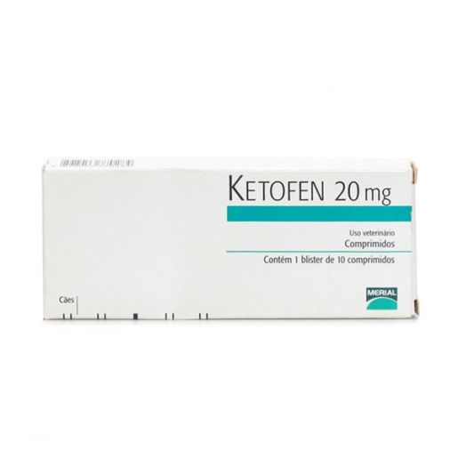 Ketofen 20mg com 10 Comprimidos