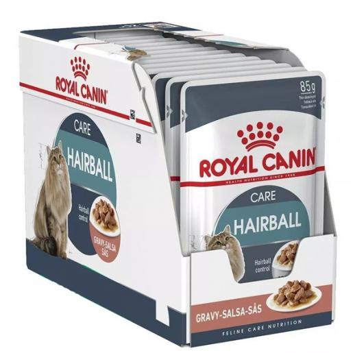 Kit 12 Sachê Royal Canin Hairball Care 85g