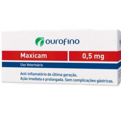 Maxicam 0,5mg 10 Comprimidos