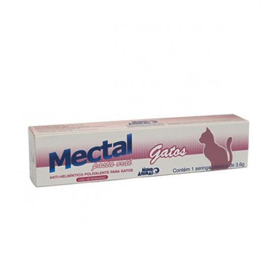 Mectal Pasta Vermífugo para Gatos