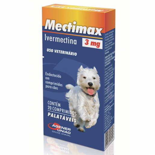 Mectimax 3mg com 20 Comprimidos