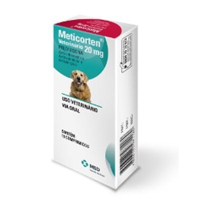 Meticorten Para Cães 20mg
