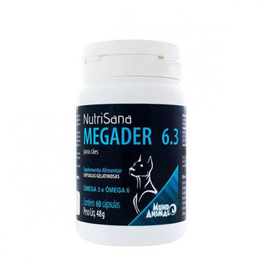 Nutrisana Megader 6.3 48g com 60 Cápsulas