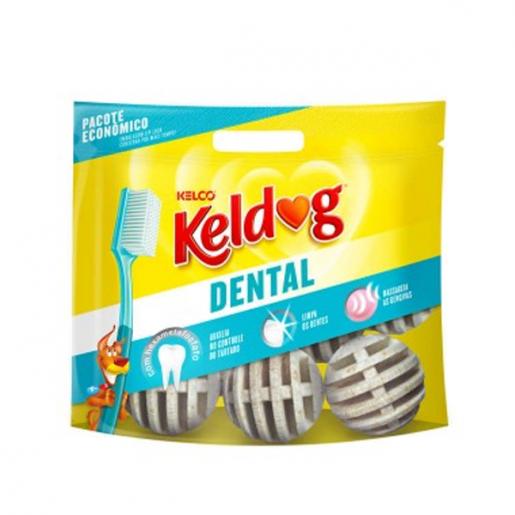 Osso Keldog Dental Bolinha Pacote 350g