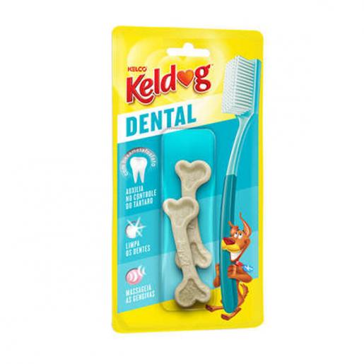 Osso Keldog Dental Frances Raças Pequenas 85g