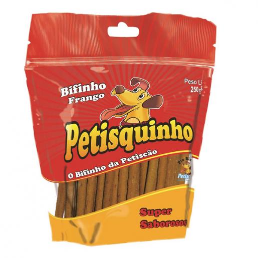 Palito Petisquinho Frango Cachorros 250g