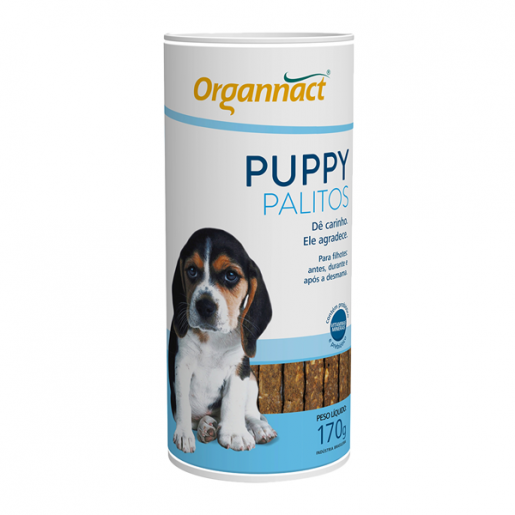 Palitos Organnact Puppy - 170g