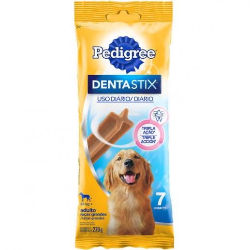 Petisco Osso Dentastix Pedigree Cachorros Raças Grandes 7 unidades 270g