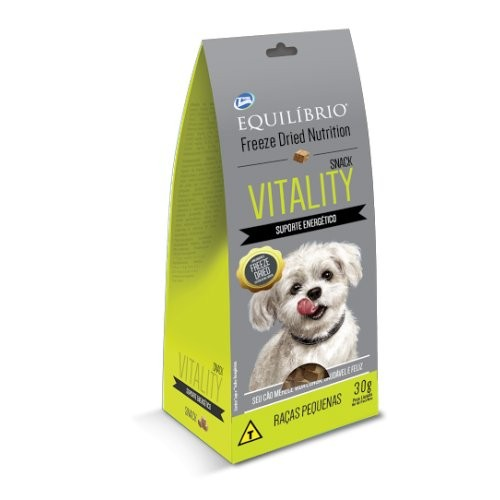 Petisco Snack Equilíbrio Freeze Dried Nutrition Vitality 30g