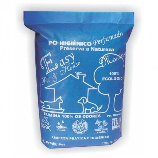 Pó Higiênico Easy Pet Eliminador de Odores Marine 1kg