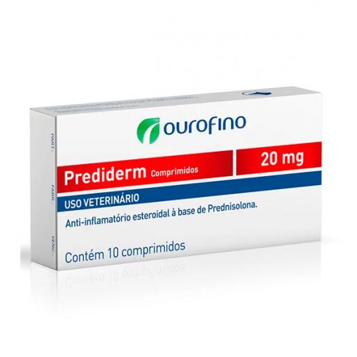 Prediderm 20mg 10 Comprimidos (Dermacorten)