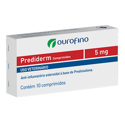 Prediderm 5mg 10 Comprimidos (Antigo Dermacorten)