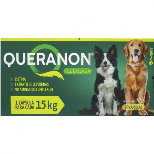 Queranon Cachorros até 15kg 30 Cápsulas