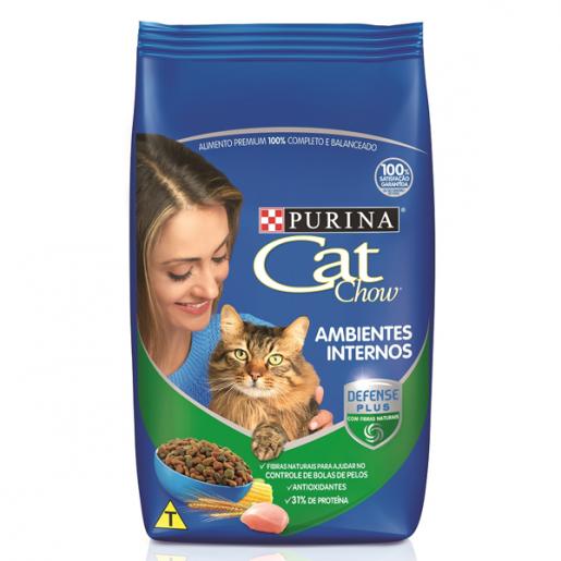 Ração Cat Chow Adultos Aves 1kg