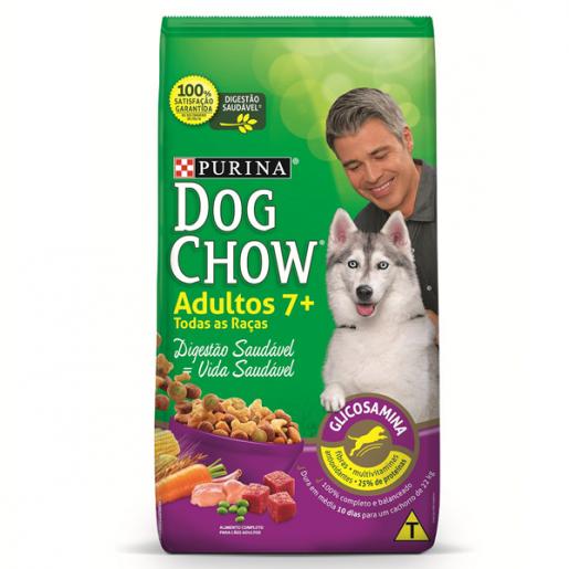 Ração Dog Chow 7+  Cães Adultos 1kg