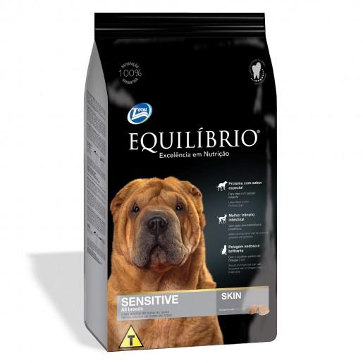 Ração Equilíbrio Cachorros Sensíveis Sensitive Skin 15kg