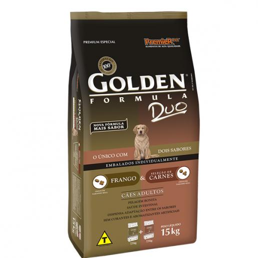Ração Golden Duo Frango e Carne 15kg
