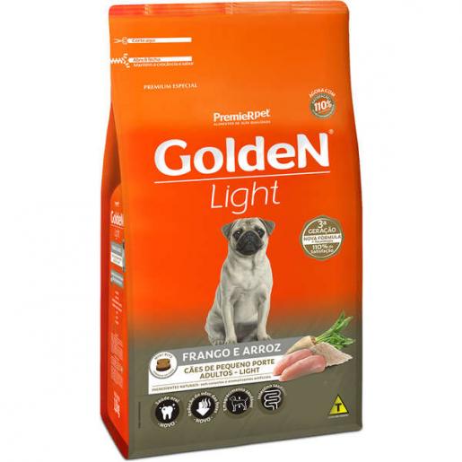 Ração Golden Fórmula Cachorros Adultos Light Mini Bits 3kg