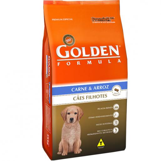 Ração Golden Fórmula Filhote Carne e Arroz 3kg