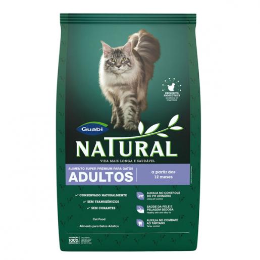Ração Guabi Natural Gatos Adultos 1,5kg