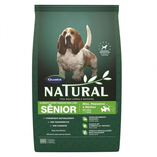 Ração Guabi Natural Para Cães Senior 2,5kg