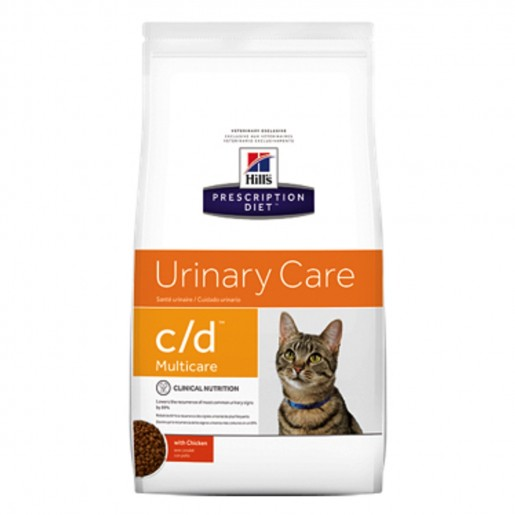 Ração Hills Prescription Diet Feline Urinary Care C/D Multicare 1,81kg