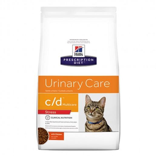 Ração Hills Prescription Diet Feline Urinary Care C/D Multicare 2,88kg