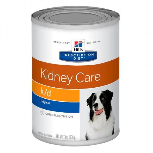 Ração Hills Prescription k/d Renal Health Canine Lata 370g