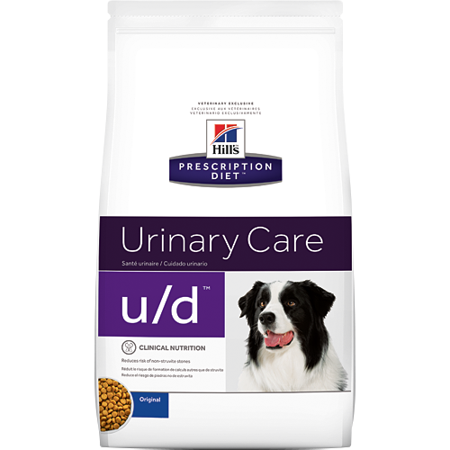 Ração Hills Prescription Diet U/D Urinary Care Cachorros 3,8kg