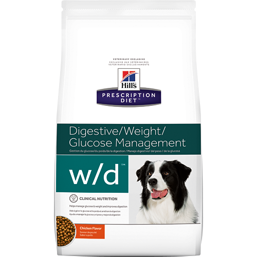 Ração Hills Prescription w/d Low Fat Diabetic Gastrointestinal Health Canine 3,8kg
