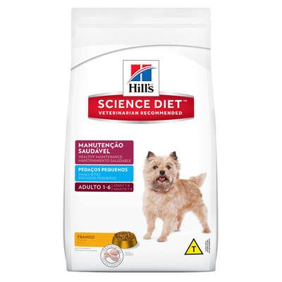 Ração Hills Science Diet Cachorros Adultos Pedaços Pequenos 1kg