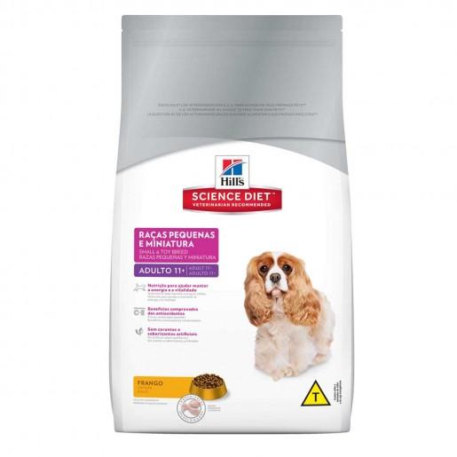 Ração Hills Science Diet Cães Adulto 11+ Anos Raças Pequenas e Miniaturas 1kg
