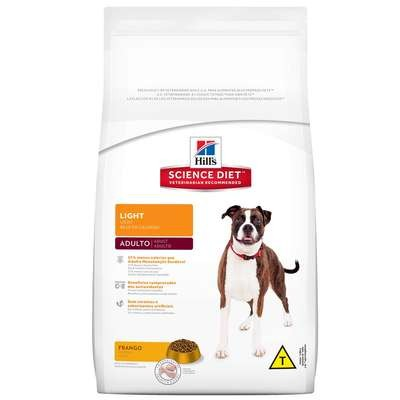 Ração Hills Science Diet Canine Adulto Original Light 7,5kg