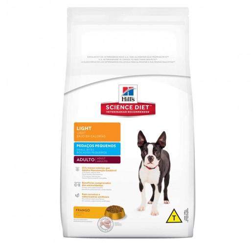 Ração Hills Science Diet Cachorros Adultos Pedaços Pequenos Light 7,5kg