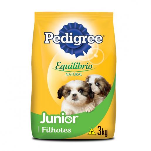 Ração Pedigree Equilíbrio Natural Junior 3kg