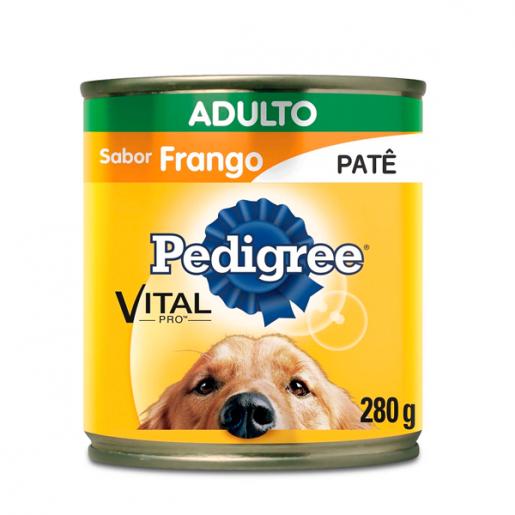 Ração Pedigree Frango Adulto Lata 280g