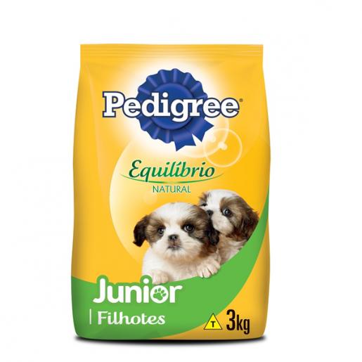 Ração Pedigree Junior Nutrição Completa 3kg