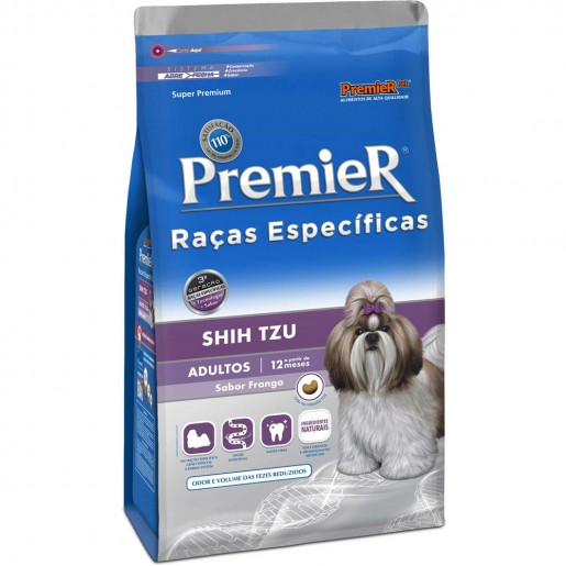 Ração Premier Adultos Shih Tzu 2,5kg