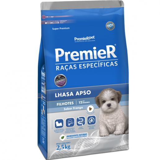 Ração Premier Filhotes Lhasa Apso 2,5kg