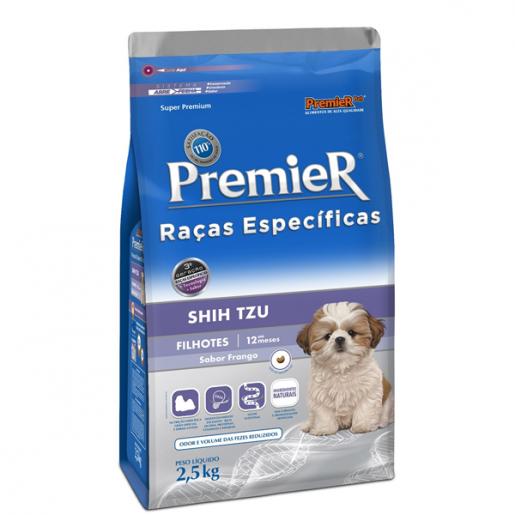 Ração Premier Filhotes Shih Tzu 2,5kg